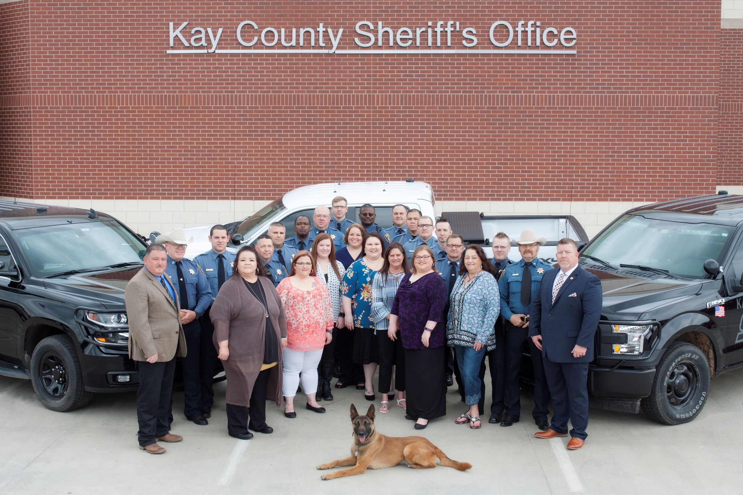 Kay County Sheriff's Office Group Picture